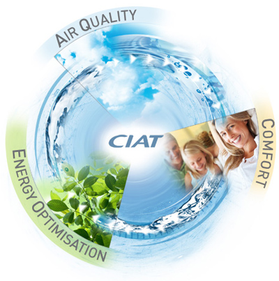 CIAT air quality, energy optimisation, comfort